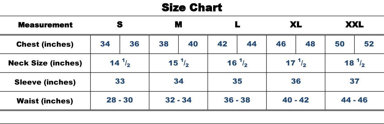 A Guide to Sizing
